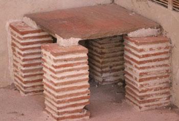 Inventos de la antigua Roma aire acondicionado romano