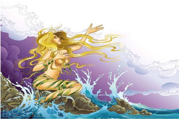 Mito de la Pincoya !Leyenda de la isla de Chiloé!