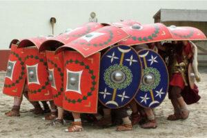 Inventos de la antigua Roma tortuga