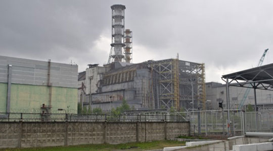 reactor nuclear de chernobyl